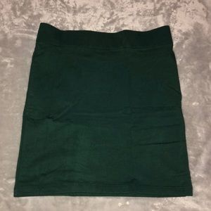 Forrest Green Mini Skirt